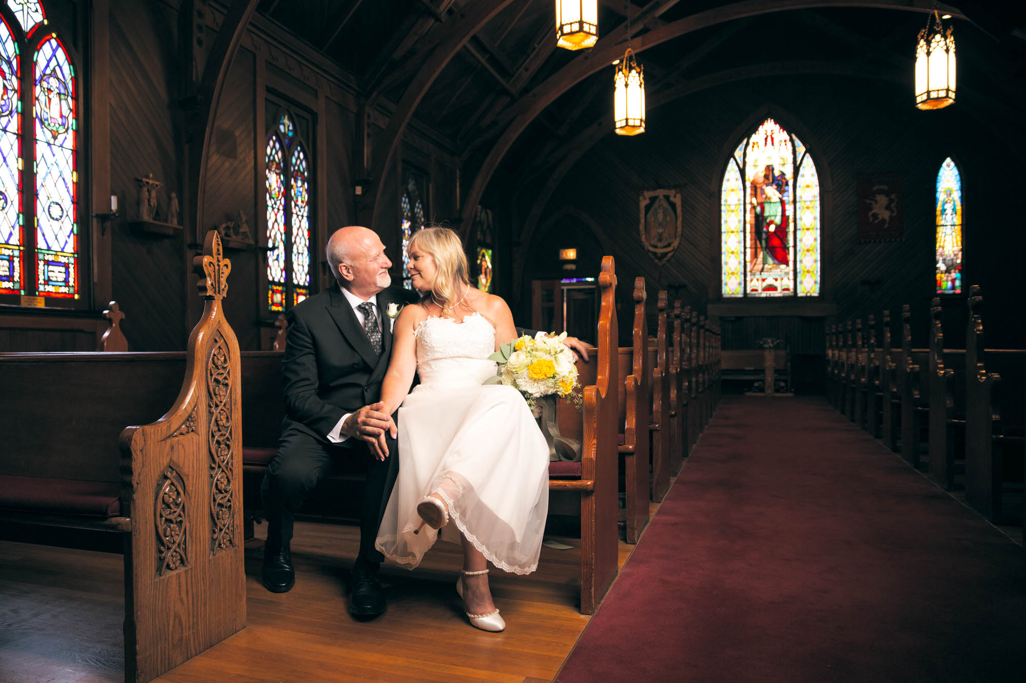 Church of the Incarnation Wedding