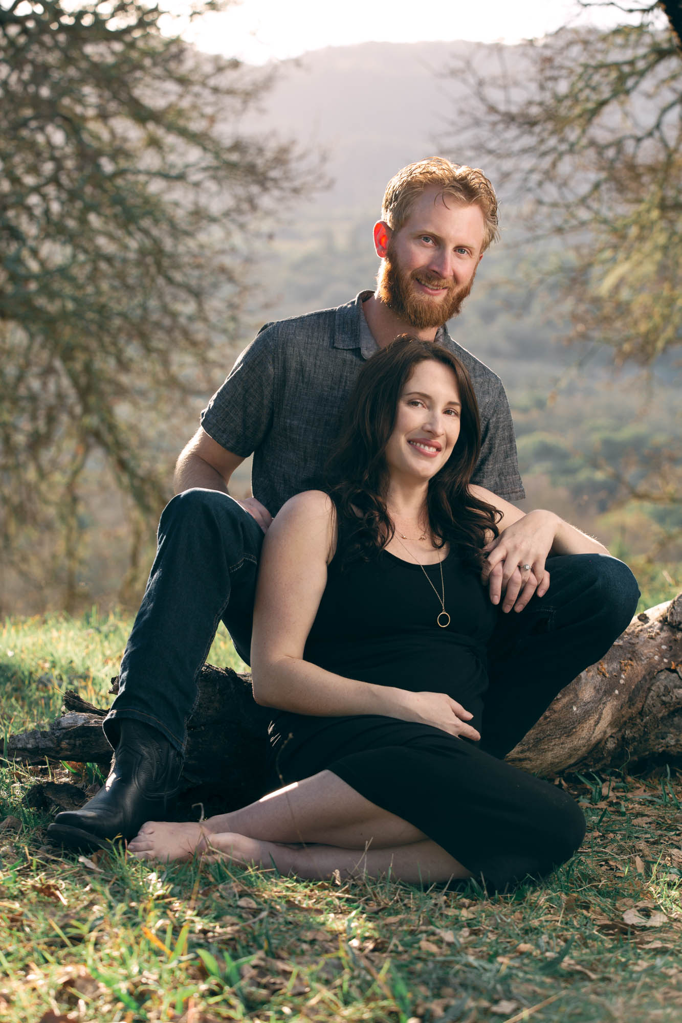 Abbey's Maternity Photo shoot with Portrait Photographer Jason Guy