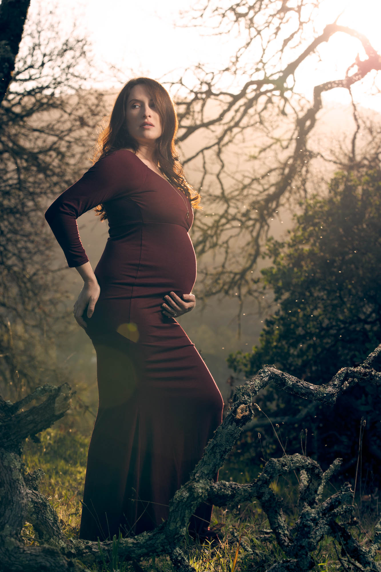 Abbey's Maternity Photo shoot with Maternity Photographer Jason Guy