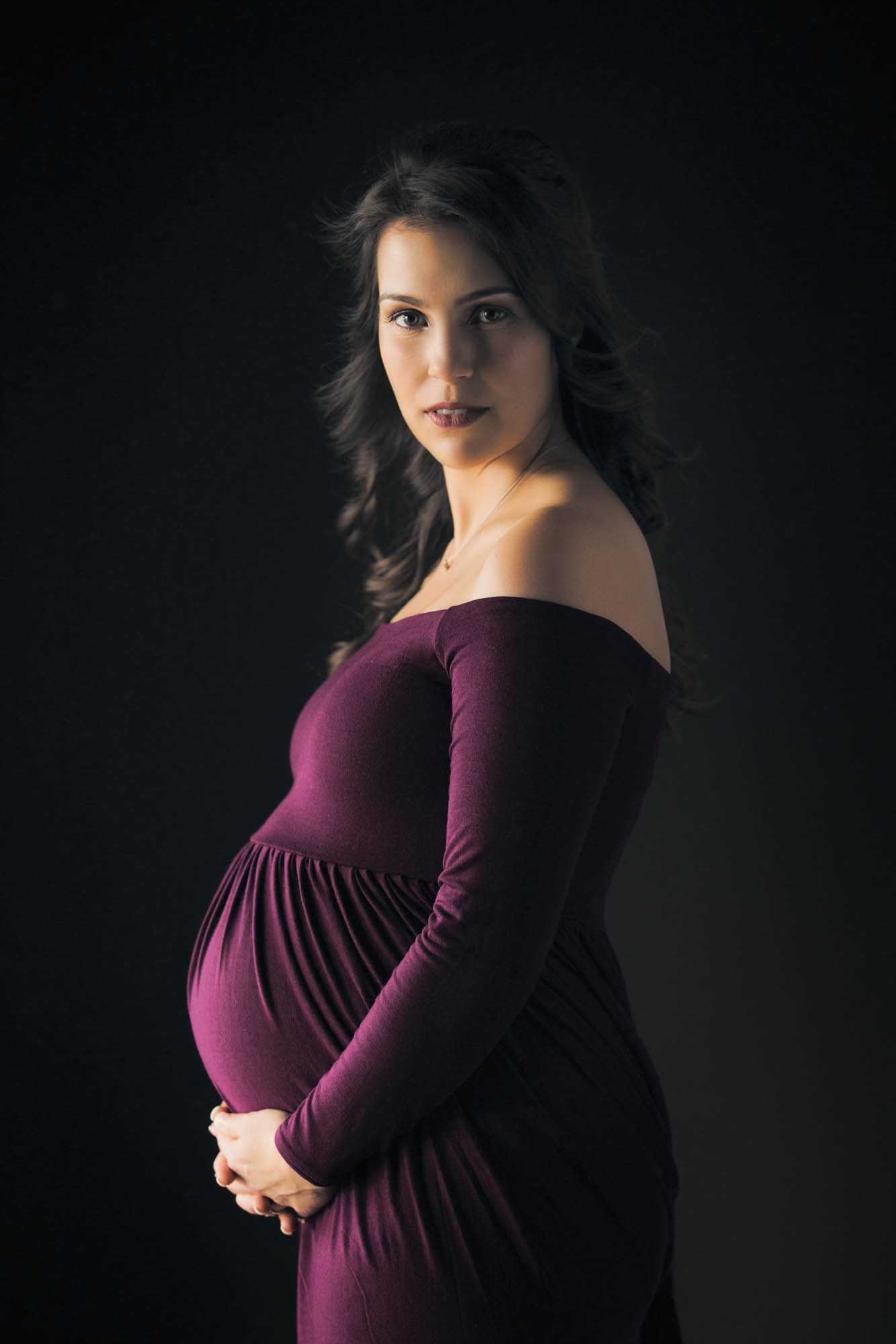 Maternity photo shoot for Jenn by Jason Guy