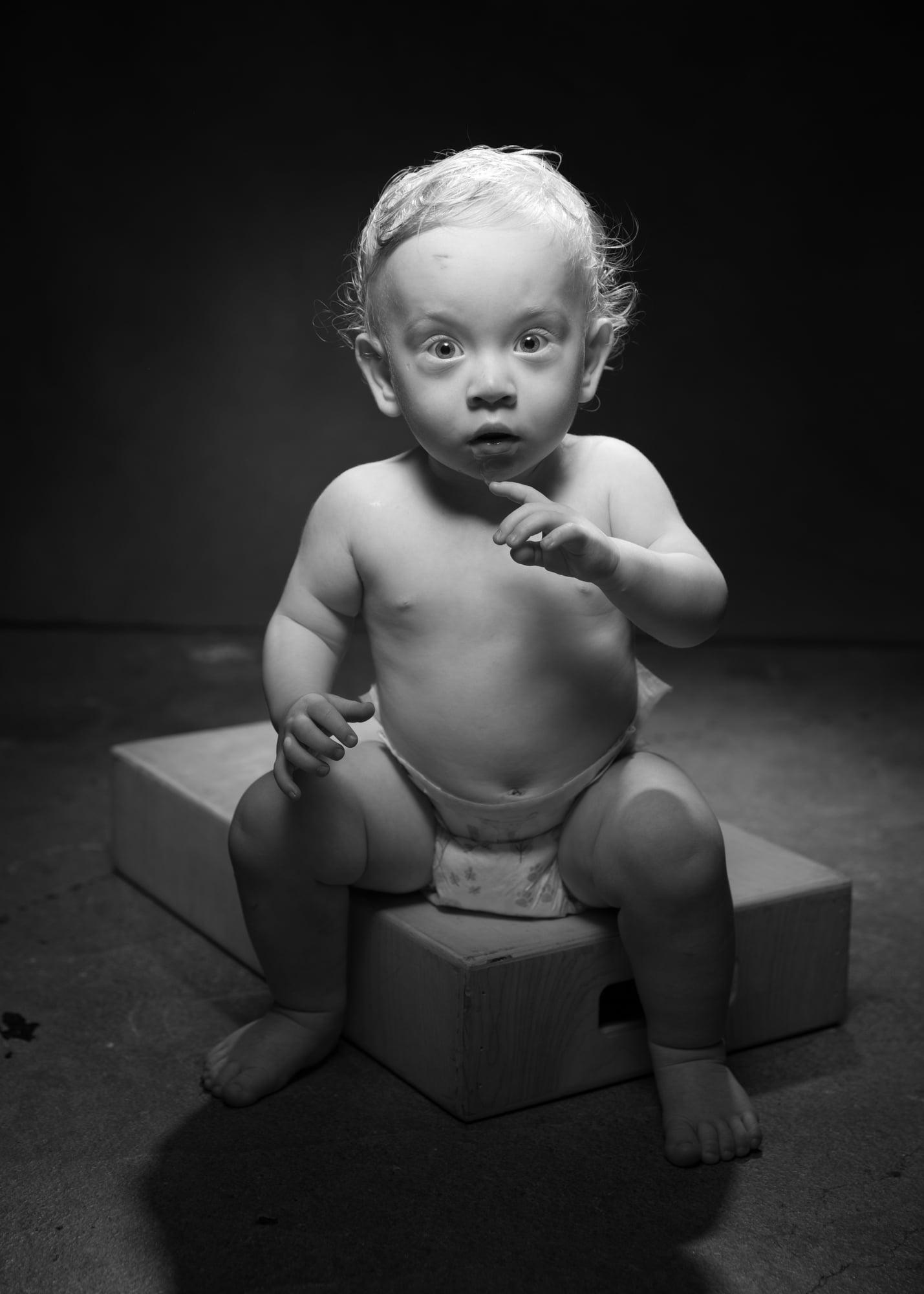Children's portrait by Jason Guy