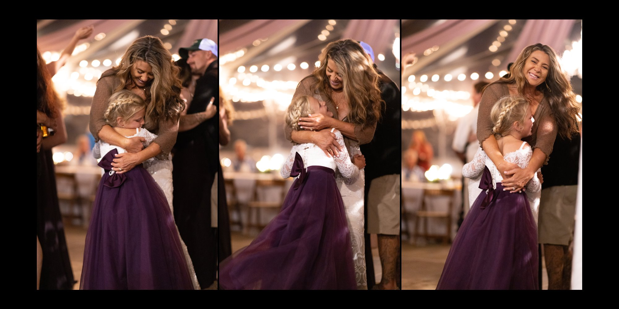Candid dancing photos with grandmother and grand daughter