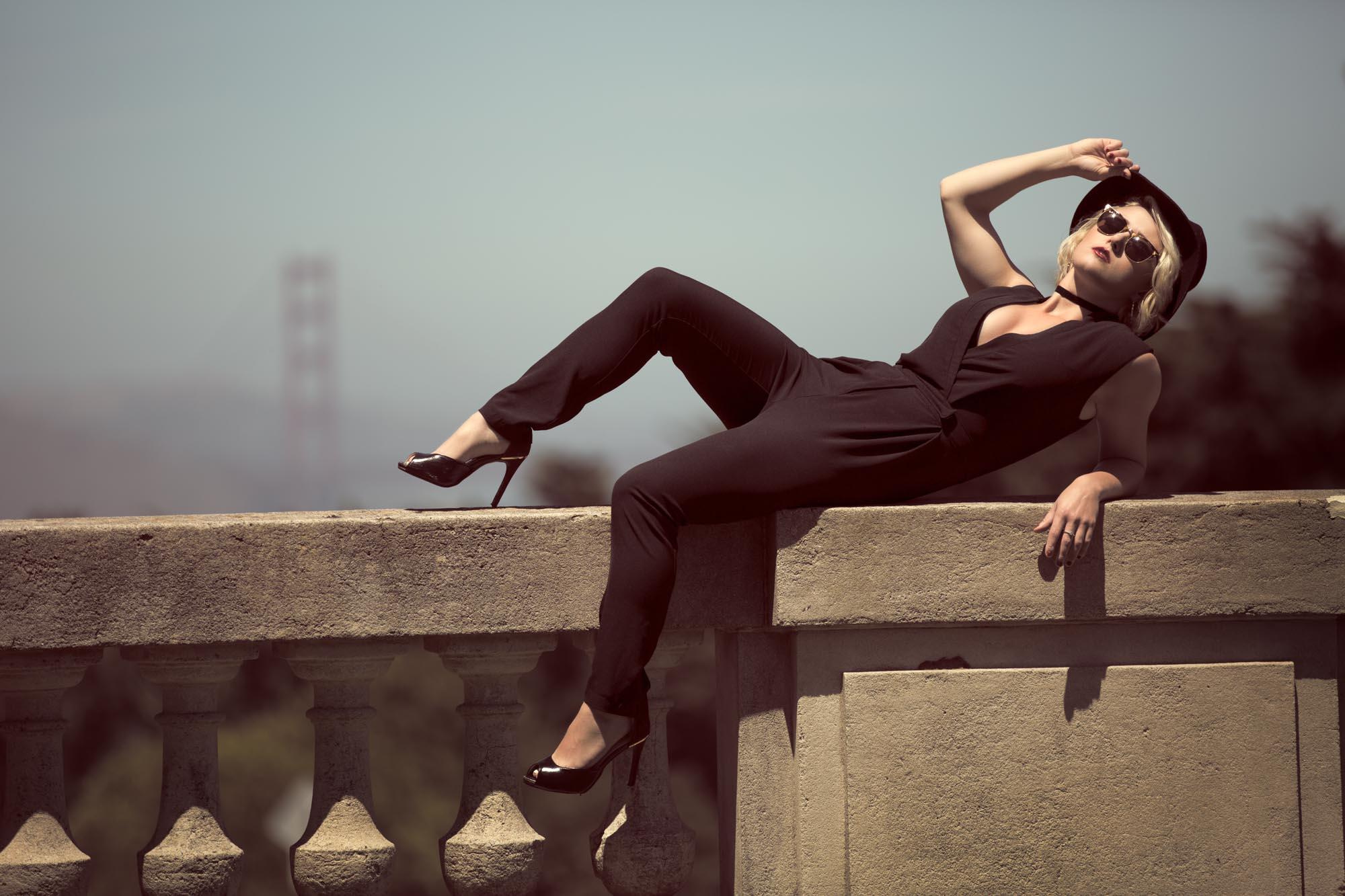 Meg's portrait session with San Francisco Portrait photogragrapher Jason Guy