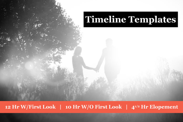 Read more about the article Editable Wedding Day Timeline Templates